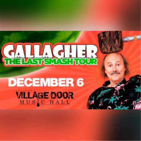 Dec,06 2019 Gallagher Last Smash Village Door Music Hall | Seascape Resort Destin Florida Events
