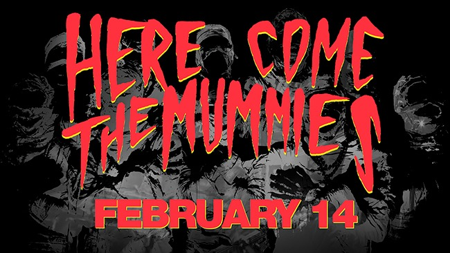 Feb,14 2020 Here Come the Mumies Village Door Music Hall | Seascape Resort Destin Florida Events