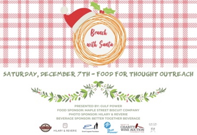Dec,07 2019 Brunch with Santa Food for Thought Outreach Full Circle Kitchen | Seascape Resort Destin Florida Events