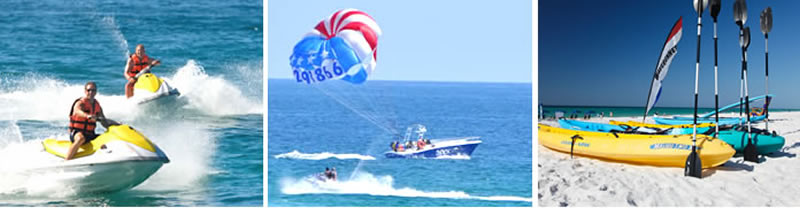 Watersports at Seascape Beach
