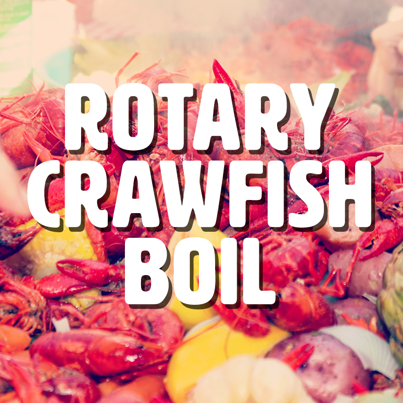 May,03 2019 Rotary Crawfish Boil Seascape Towne Centre | Seascape Resort Destin Florida Events
