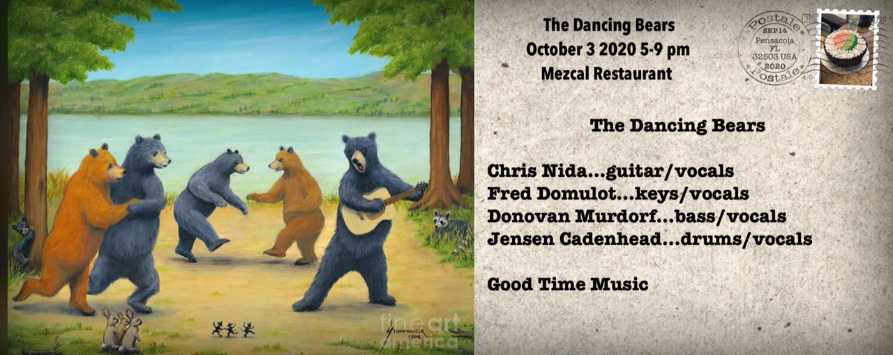 Oct,24 2020 Live Music with The Dancing Bears Events Plaza | Seascape Resort Destin Florida Events