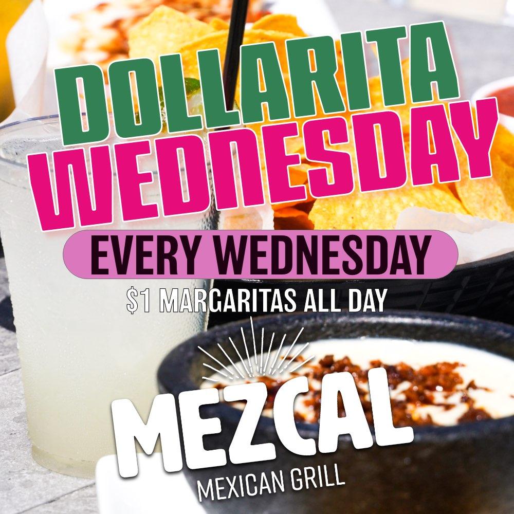 Jul,28 2021 $1 Margaritas All Day Mezcal Mexican Grill | Seascape Resort Destin Florida Events