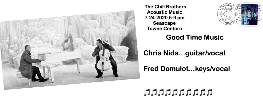 Jul,24 2020 LIve Music with The Chill Brothers Events Plaza | Seascape Resort Destin Florida Events