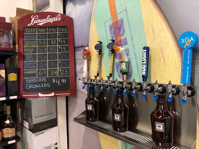 Craft Beer Taps Miramar Beach