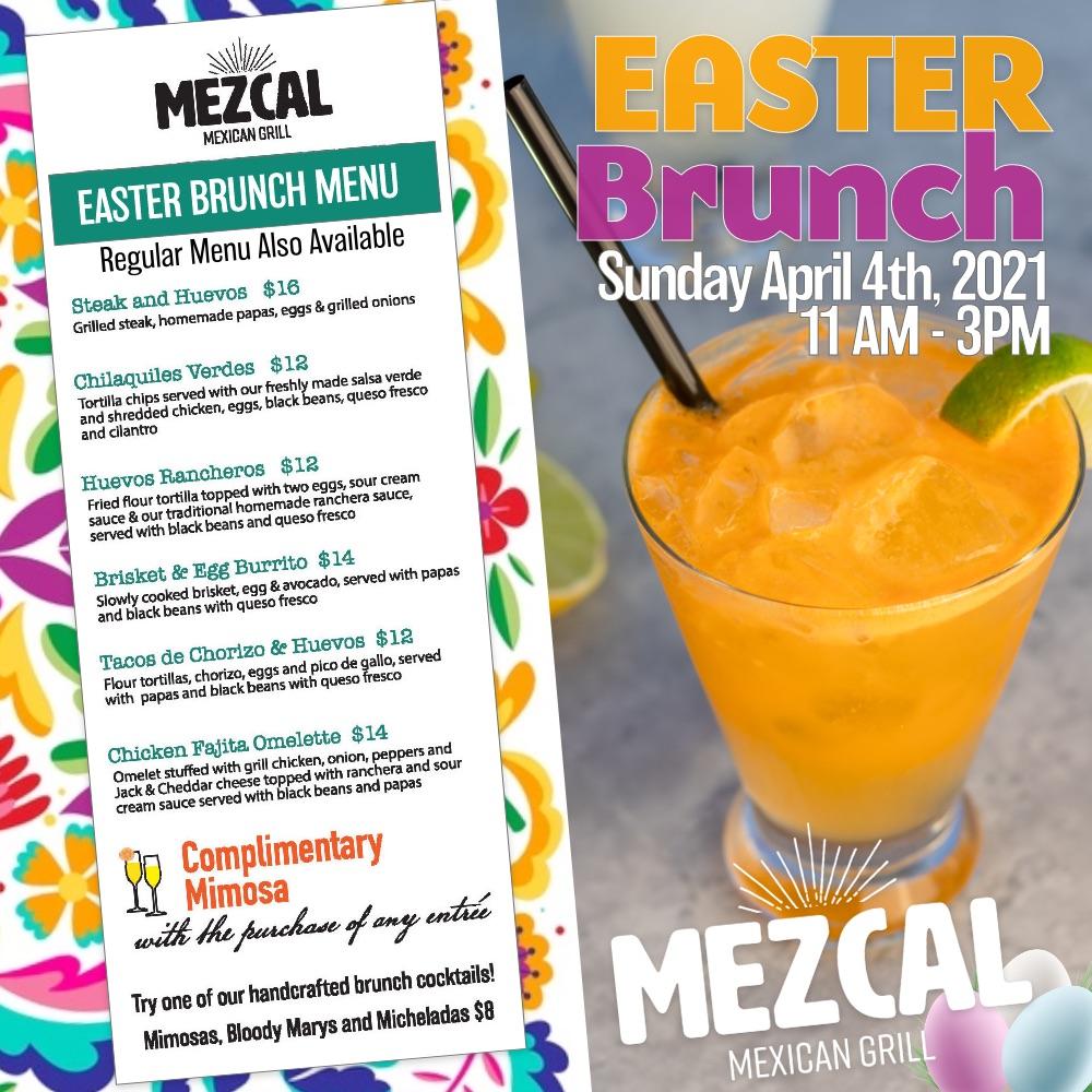 Apr,04 2021 Easter Brunch Mezcal Mexican Grill | Seascape Resort Destin Florida Events