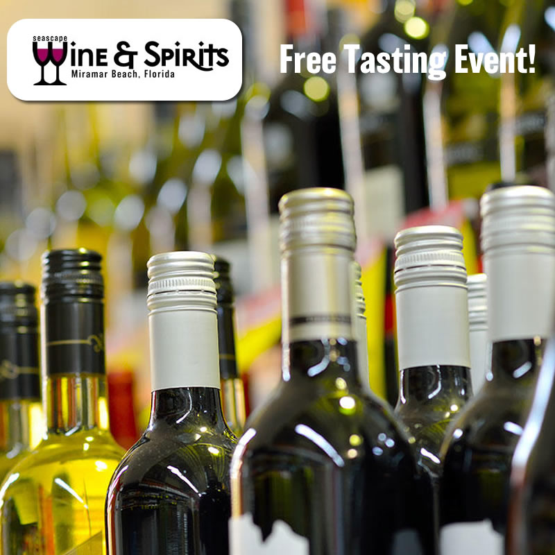 Mar,16 2019 Tasting Event  Seascape Wine & Spirits | Seascape Resort Destin Florida Events