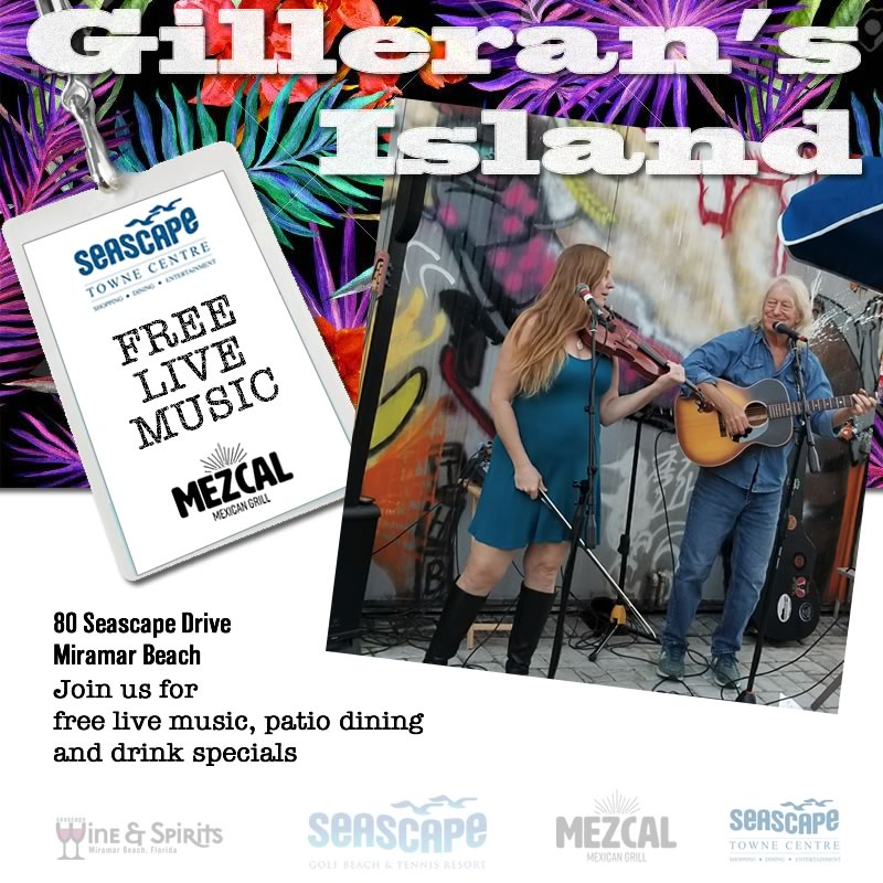 Oct,23 2020 Live Music with Gillerans Island Events Plaza | Seascape Resort Destin Florida Events