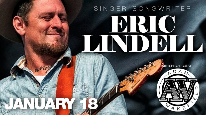 Jan,18 2020 Eric Lindell w/ Adam Wakefield Village Door Music Hall | Seascape Resort Destin Florida Events