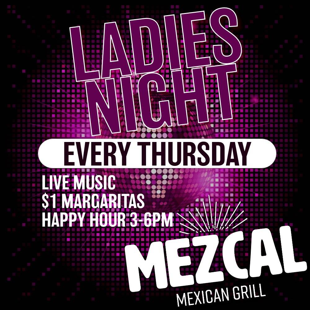 Jun,10 2021 Ladies Night at Mezcal Mezcal Mexican Grill | Seascape Resort Destin Florida Events