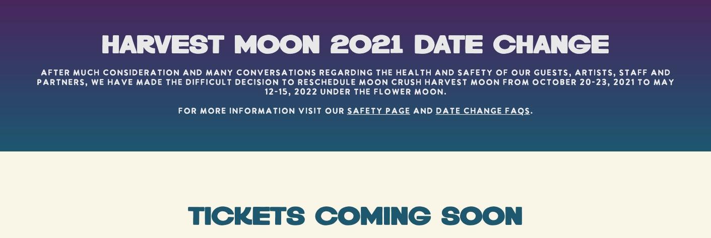 May,12 2022 Moon Crush Flower Moon Seascape Resort | Seascape Resort Destin Florida Events
