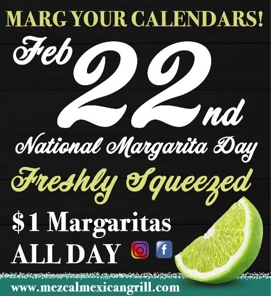 National Margarita Day Mezcal Mexican Grill | Mezcal Mexican Grill Events and Entertainment
