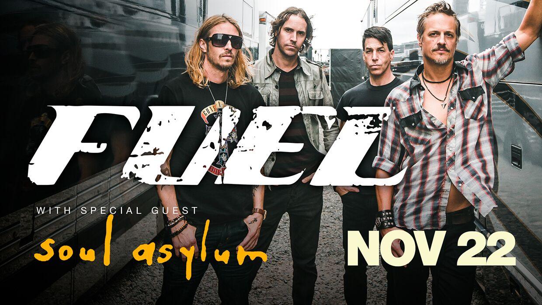 Nov,22 2019 Fuel with Soul Asylum Village Door Music Hall | Seascape Resort Destin Florida Events