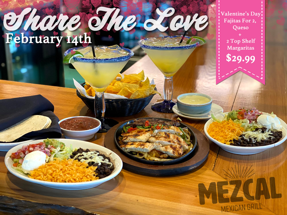 Share The Love Mezcal Mexican Grill | Mezcal Mexican Grill Events and Entertainment