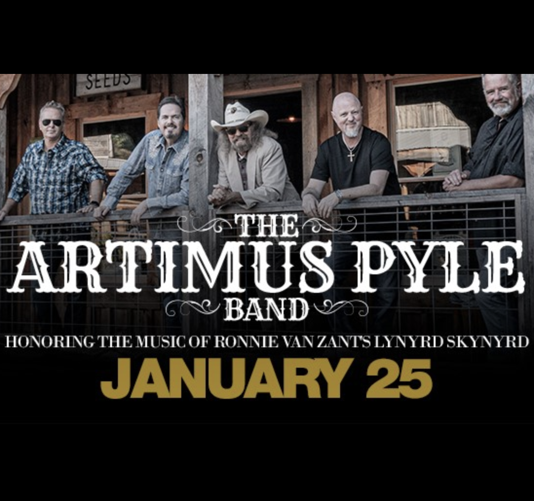 Jan,25 2020 Artimus Pyle Band Village Door Music Hall | Seascape Resort Destin Florida Events