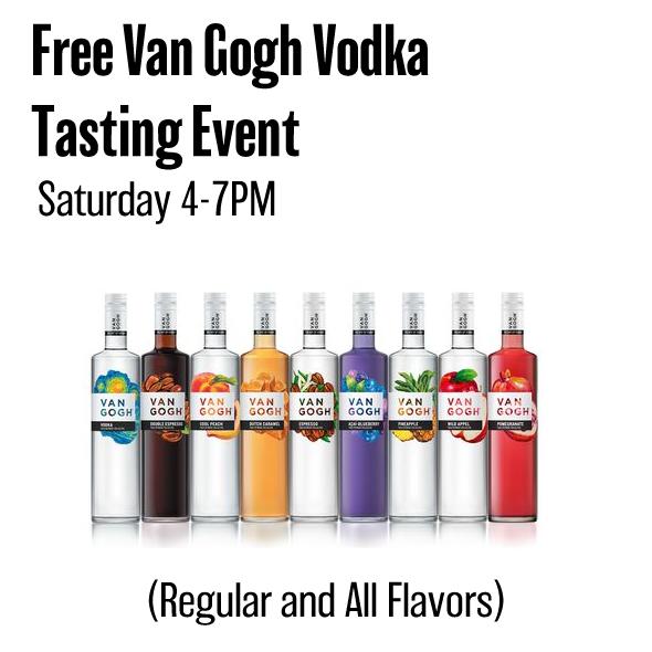 Jan,12 2019 Van Gogh Vodka Tasting Event Seascape Wine & Spirits | Seascape Resort Destin Florida Events